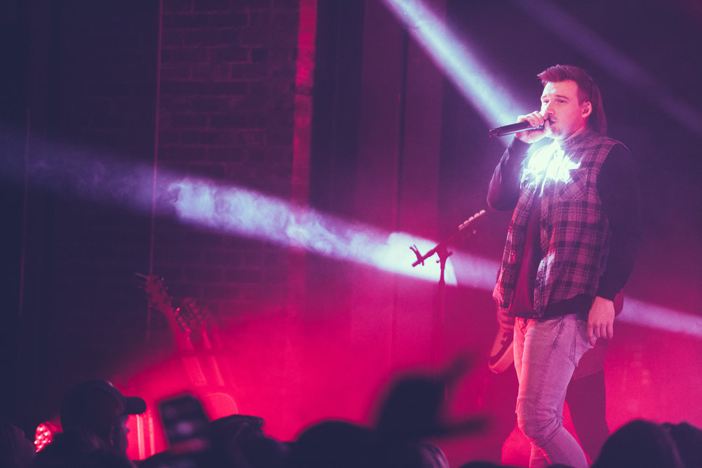 Morgan Wallen performs in concert at Iron City in Birmingham, Alabama on January 10th, 2019. (Photo by David A. Smith / DSmithScenes)