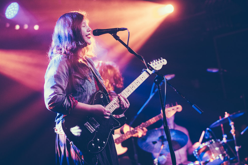 Lucy Dacus performs in concert at Saturn Birmingham in Birmingham, Alabama on February 4th, 2019. (Photo by David A. Smith / DSmithScenes)