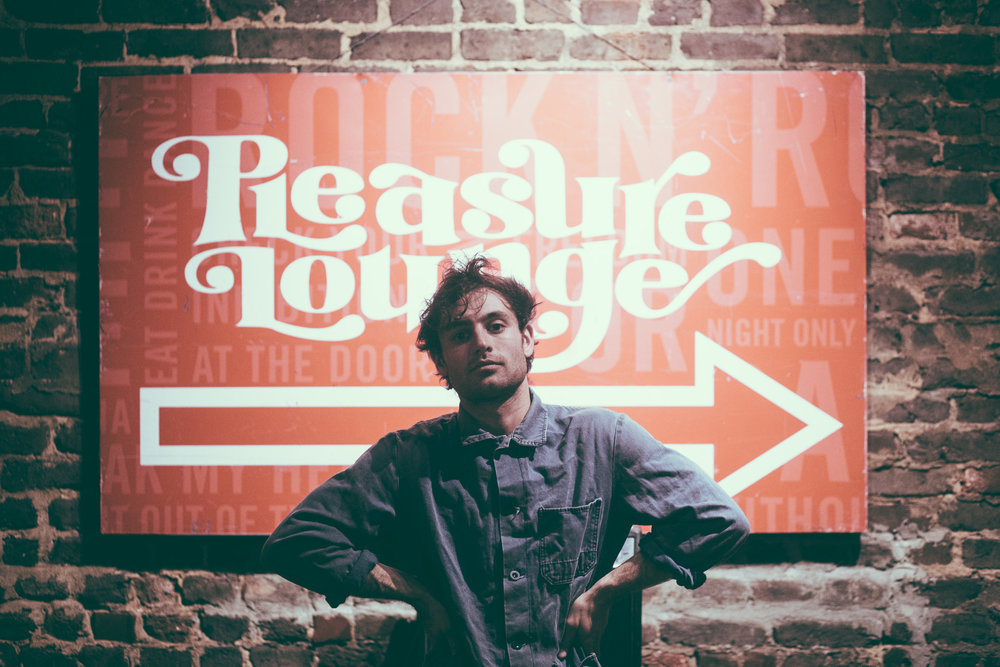 Adrian Galvin of Yoke Lore poses before his concert at Saturn Birmingham in Birmingham, Alabama on March 20th, 2019. (Photo by David A. Smith / DSmithScenes)