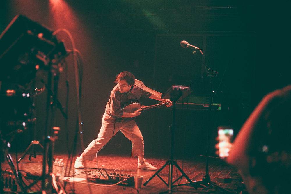 Adrian Galvin of Yoke Lore performs in concert at Saturn Birmingham in Birmingham, Alabama on March 20th, 2019. (Photo by David A. Smith / DSmithScenes)