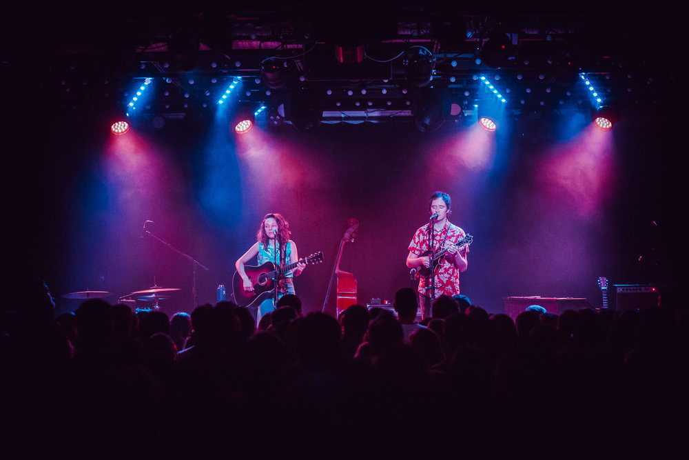 Mandolin Orange performs in concert at Saturn Birmingham in Birmingham, Alabama on April 5th, 2019. (Photo by David A. Smith / DSmithScenes)