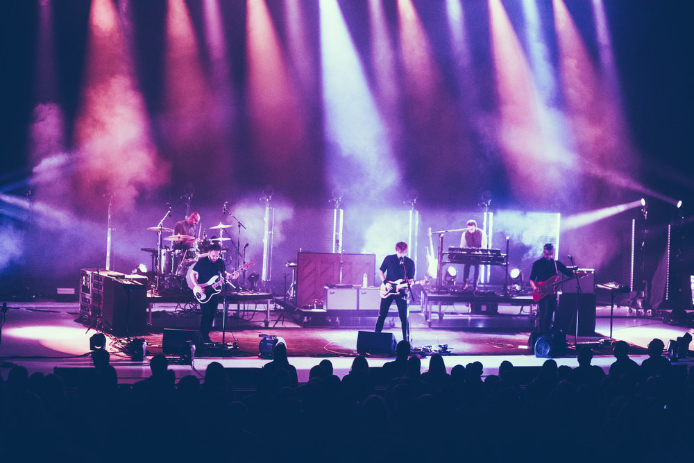 Death Cab for Cutie performs in concert at the Birmingham-Jefferson Civic Center Concert Hall in Birmingham, Alabama on April 10th, 2019. (Photo by David A. Smith / DSmithScenes)