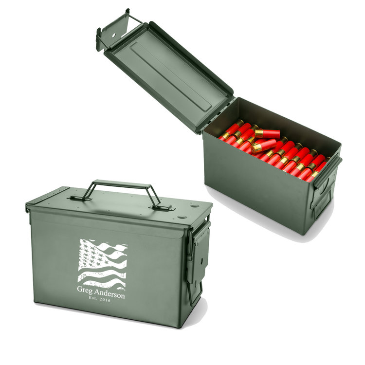 personalized metal 50 cal ammunition box personalized groomsmen gift christmas fathers day dad mens gifts dsjds the best man gifts - Man Gifts For Christmas