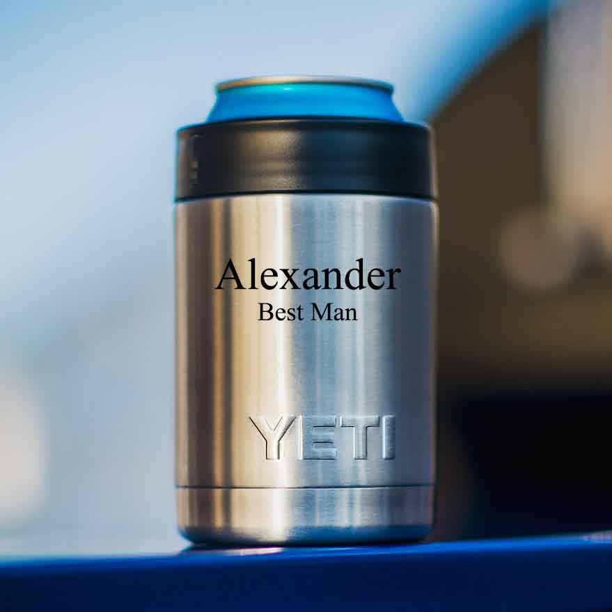 Personalized Yeti Colster Rambler Vacuum Insulated Stainless Steel Personalized Groomsmen Gifts Father S Day Dad Corporate Gift