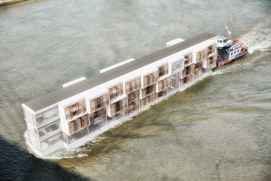 Maison de retraite flottante, Ile de France