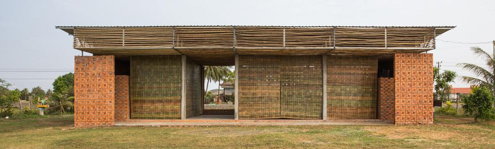 Sala Robam, création d'une salle de danse, Kep
