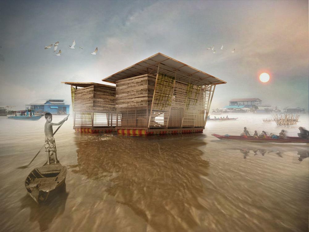 Ecole flottante de biodiversité, Tonle Sap