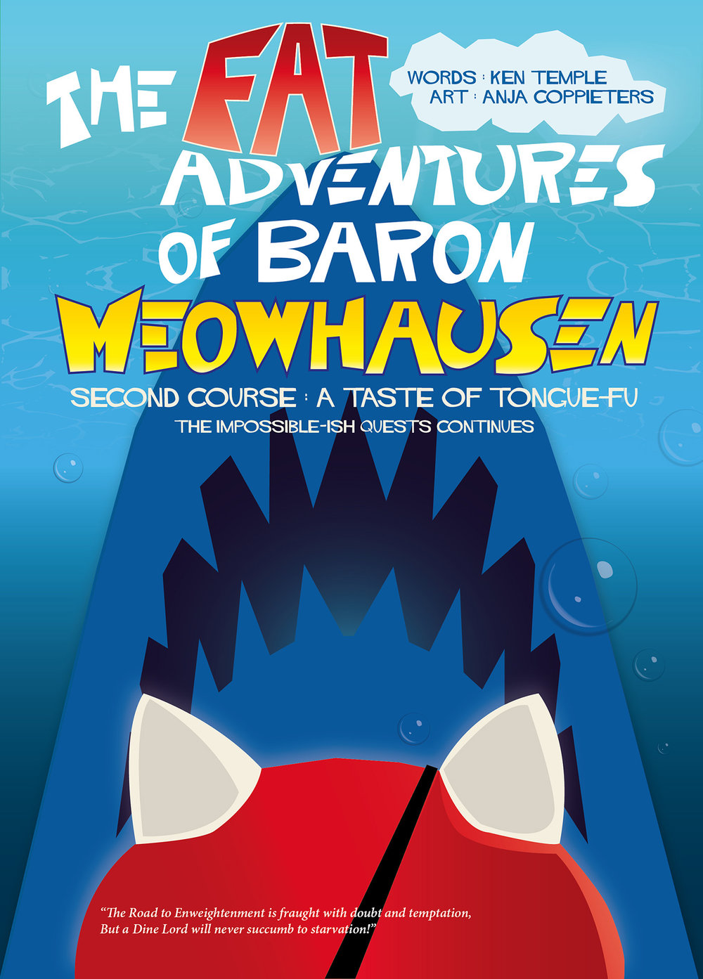 The Fat Adventures of Baron Meowhausen — Second Course: A Taste of Tongue-Fu