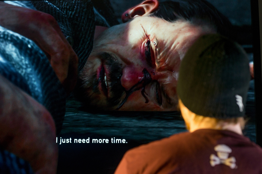 """You guys don't have class tomorrow, I have class tomorrow, we can keep playing."" (Pat, The Last of Us)"