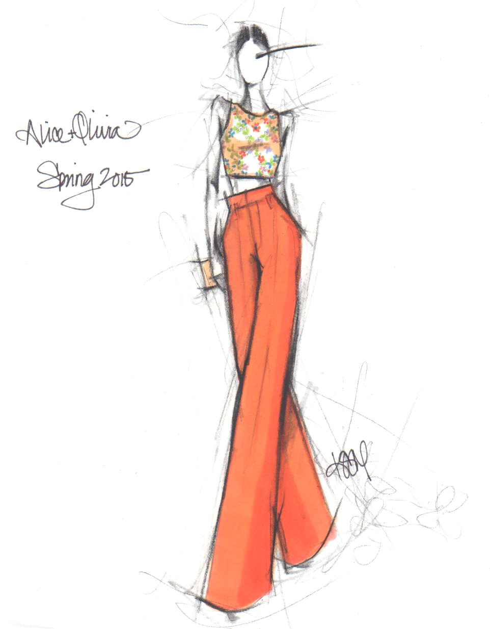 The Drawing Pad: NYFW Spring 2015