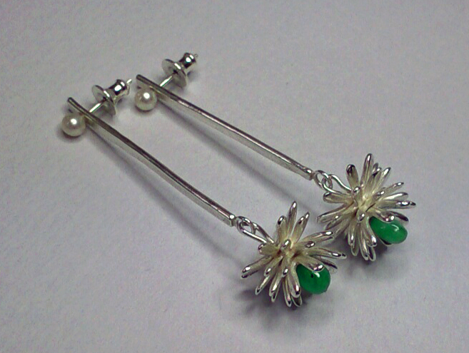 Lorraine-Gibby-jewellery-silver-emerald-earrings-aeoleum-cactus-mettle-studios (1).jpg