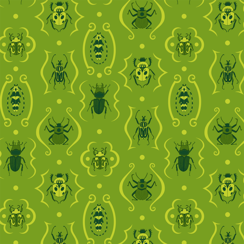 Beetle Damask