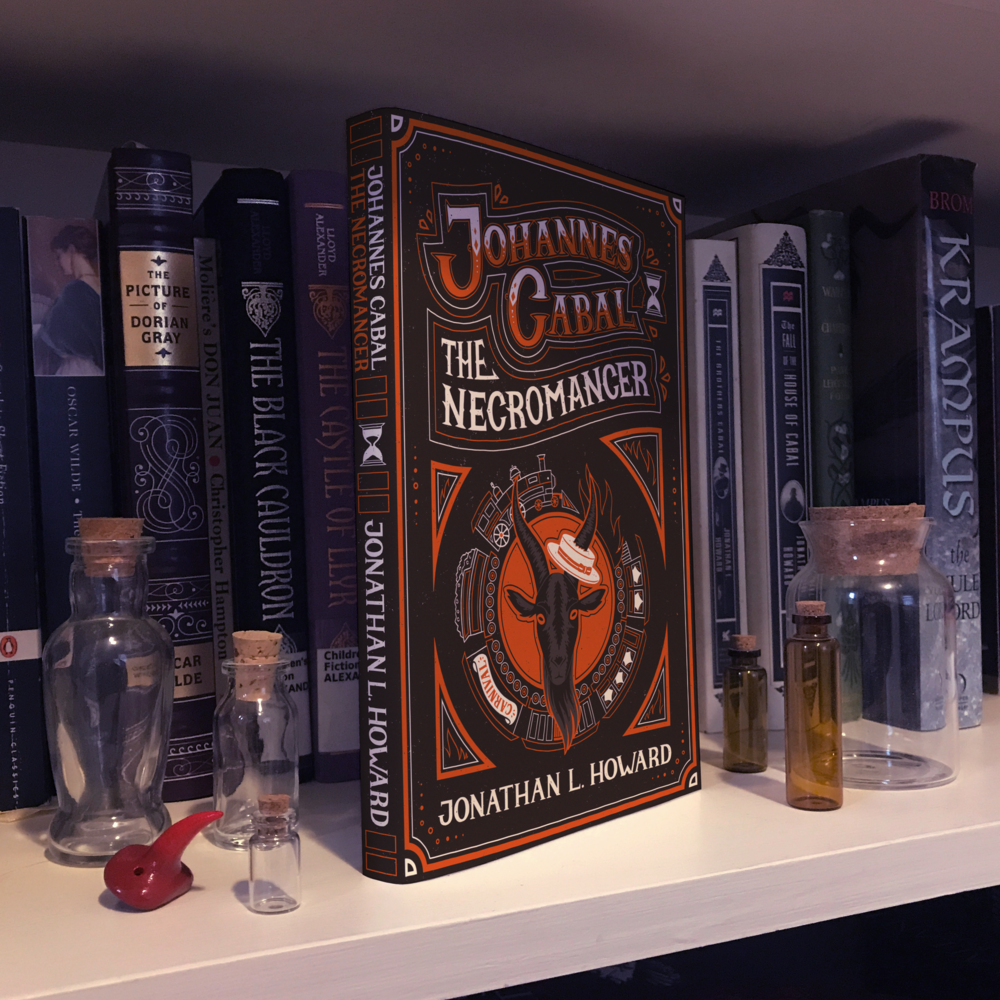 Johannes Cabal the Necromancer Book Cover