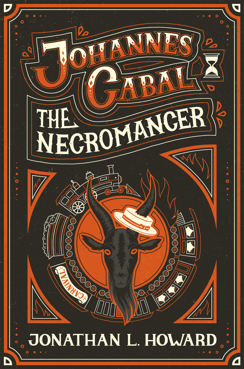 Johannes Cabal Book Cover