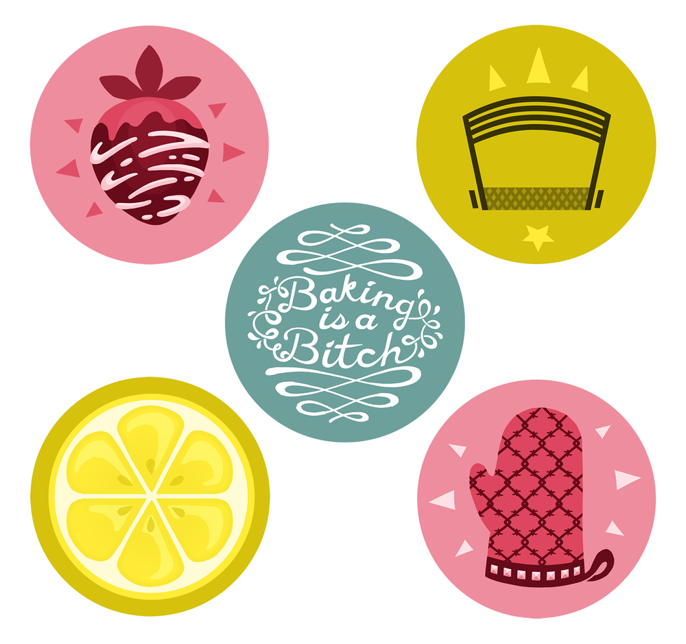 Baking Buttons