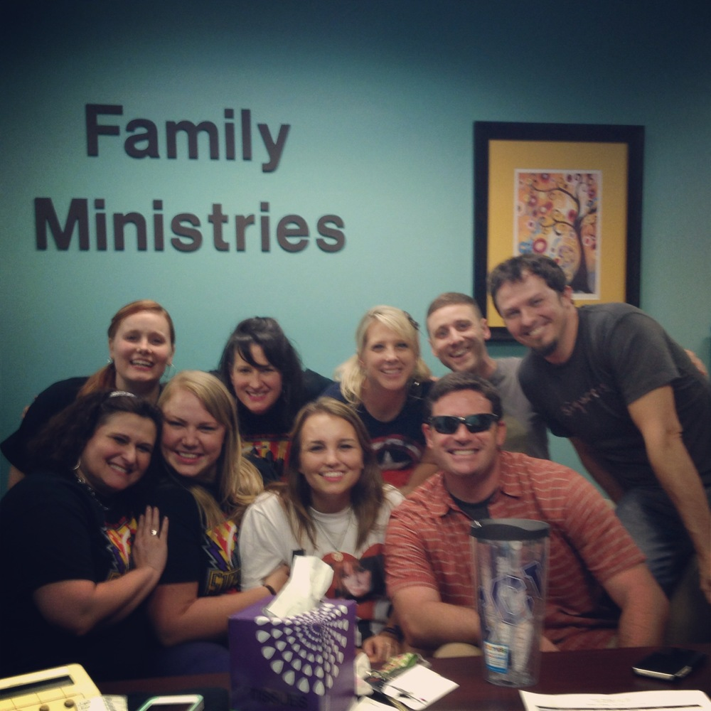 A trip to Houston isn't complete without a trip to hug some of my favorite people in the whole world at Grace Pres. So grateful for the 7 1/2 years God gave us there with so many wonderful friends. The 2nd floor was not quiet for at least three hours that day. #goodtimes