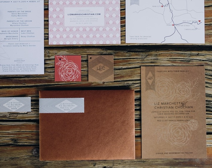 L&C WEDDING INVITATIONS
