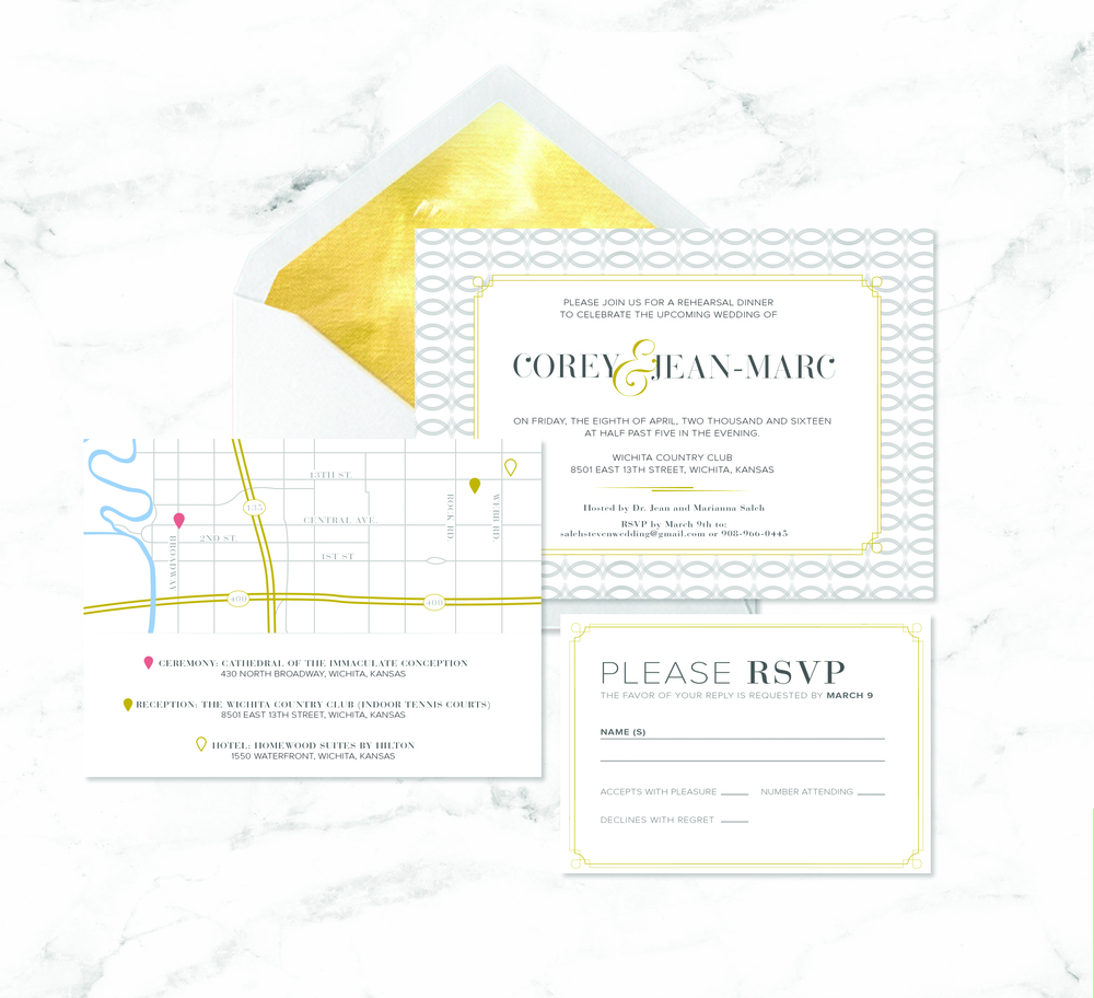 GOLD WEDDING SUITE