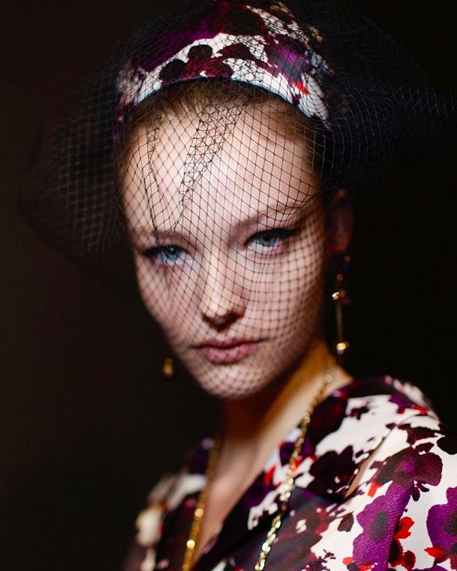 📸@saravdhoek @erdem #beauty #lfw #supermodel
