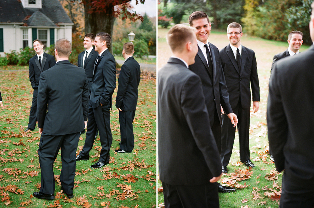 6-Ken-Bruggeman-Photography-Wedding-Photographer-York-PA-Groom-Groomsmen-Stadning-Laughing.jpg