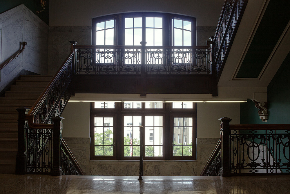 8-Yonkers_City_Hall_Interior_Split_Level_Stairwell_Ken_Bruggeman_Photography_York, PA.jpg
