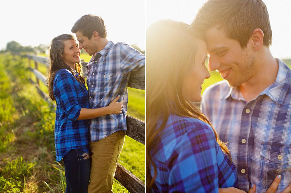 3-Ken-Bruggeman-Photography-York-PA-Engagement-Couple-Embracing-Sunlight.jpg