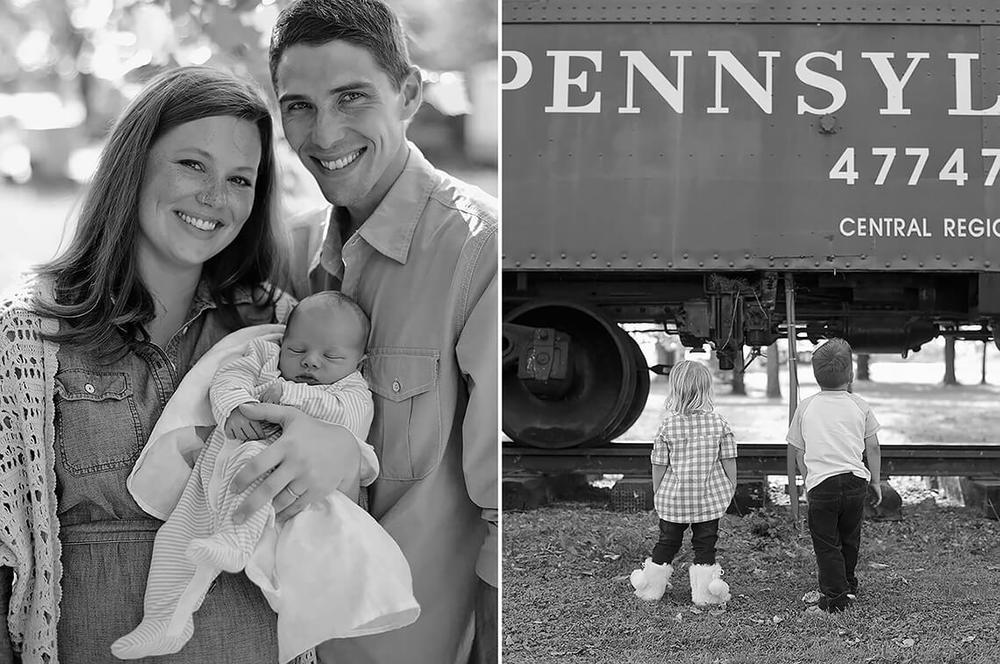 10-Family-Photography-Newborn-York-PA-Ken-Bruggeman-Photography-Parents-holding-Infant-Siblings-Looking-Train.jpg