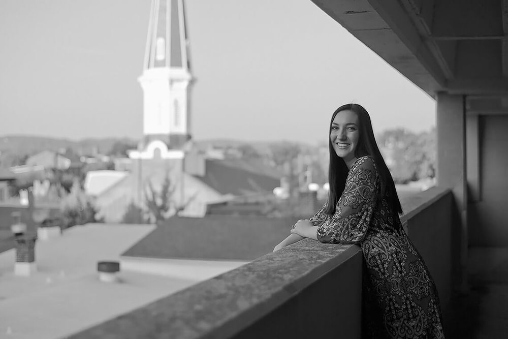8-Senior-Portrait-Photography-York-PA-Ken-Bruggeman-Girl-Overlooking-City-Church-Steeple.jpg