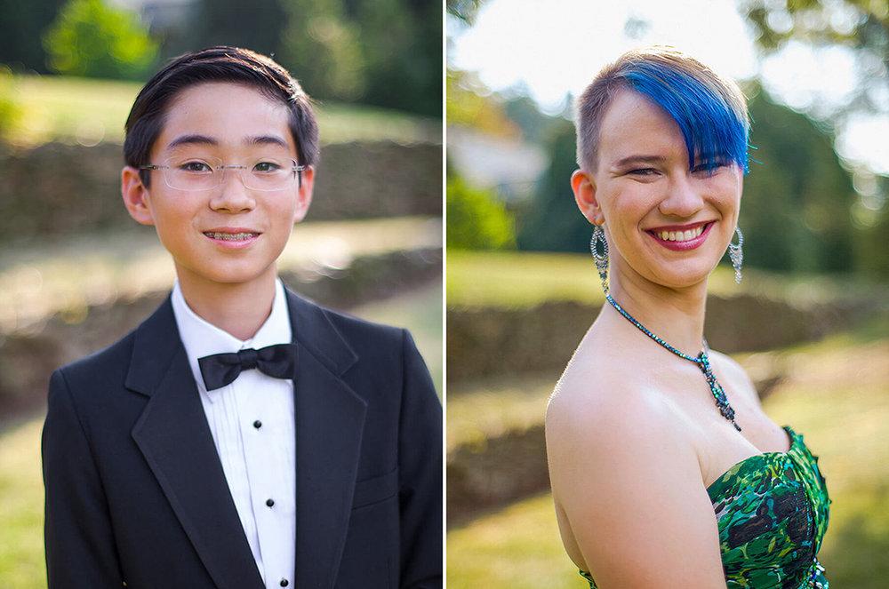 12-Formal-Family-Photography-Ken Bruggeman-York-PA-Young-Boy-Tuxedo-Girl-Blue-Hair.jpg