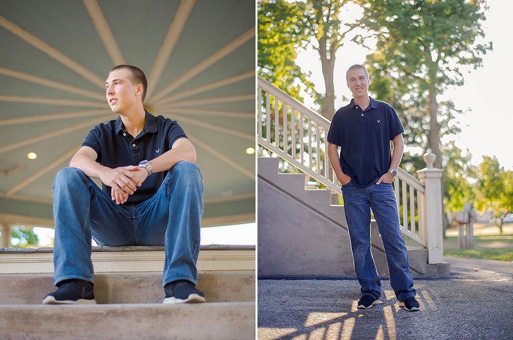 1-Senior-Portrait-Photography-Ken-Bruggeman-York-PA-Young-Man-Sunshine-Sitting-Gazebo.jpg