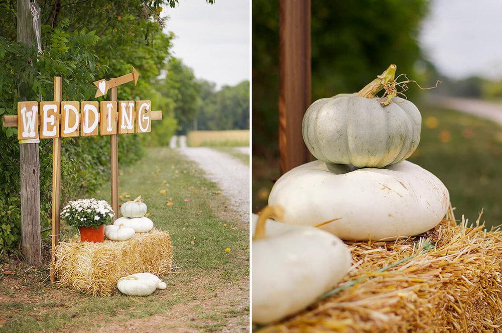 1-Wedding-Photographer-York-PA-Ken-Bruggeman-Wooden-WEdding-Sign-Pumpkins.jpg