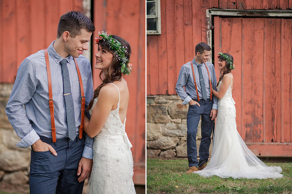 22-Wedding-Photographer-York-PA-Ken-Bruggeman-Bride-Groom-Smiling-Red-Barn.jpg