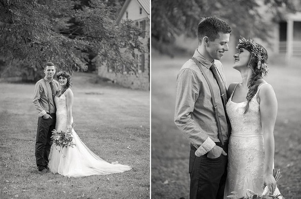 25-Wedding-Photographer-York-PA-Ken-Bruggeman-Bride-Smiling-Groom-Black-White.jpg