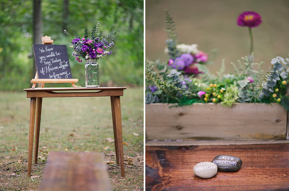 31-Wedding-Photographer-York-PA-Ken-Bruggeman-Flowers-Signs-Decoration-Painted-Stones.jpg