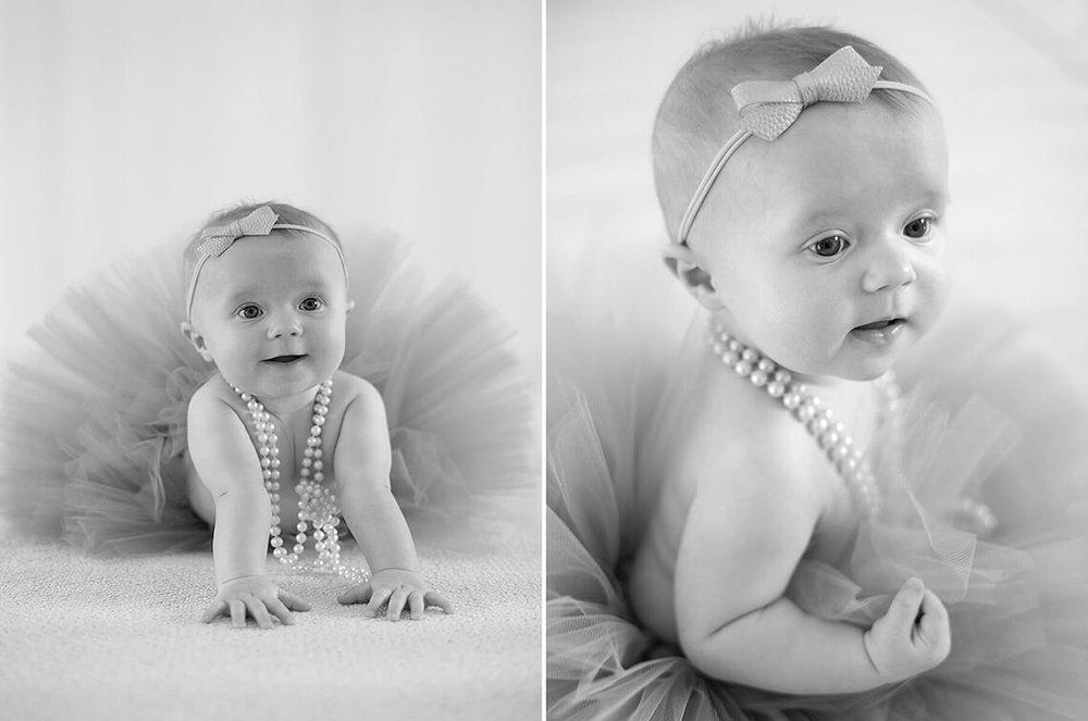 2-Family-Photographer-York_PA-Ken-Bruggeman-Photography-Baby-Girl-Black-White-Ballet-Tutu-Smiling.jpg