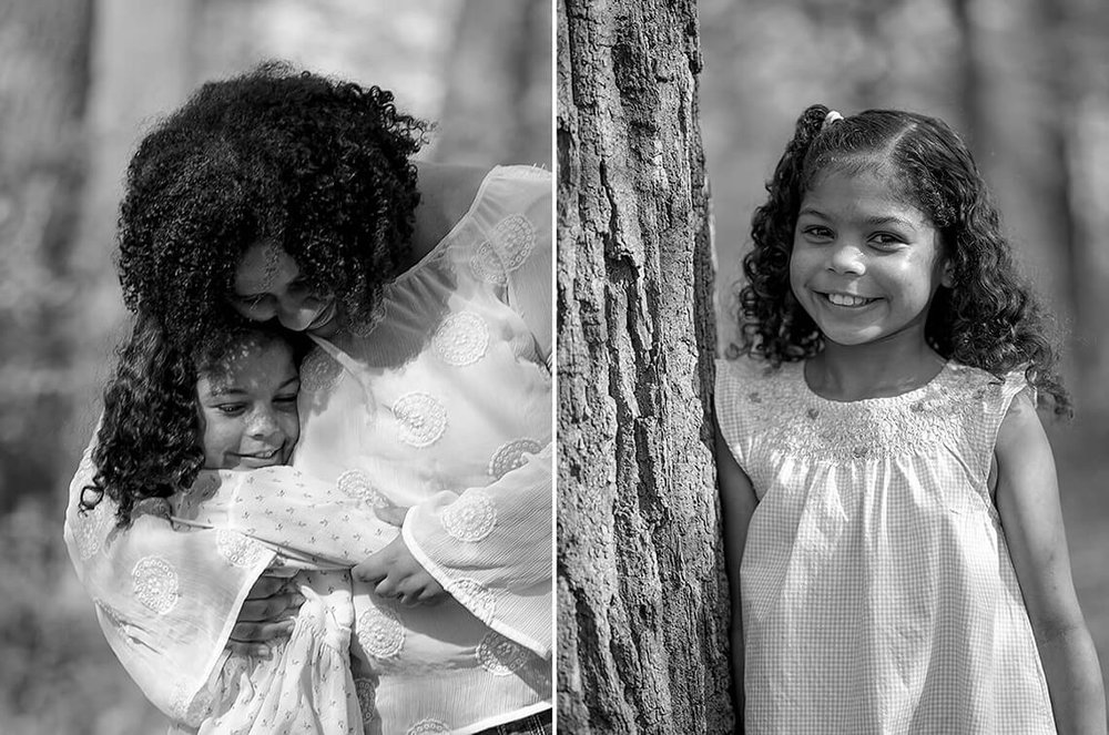 4-Family-Photographer-York_PA-Ken-Bruggeman-Photography-Mother-Hugging-Daughter-Black-White-Girl-Smiling.jpg