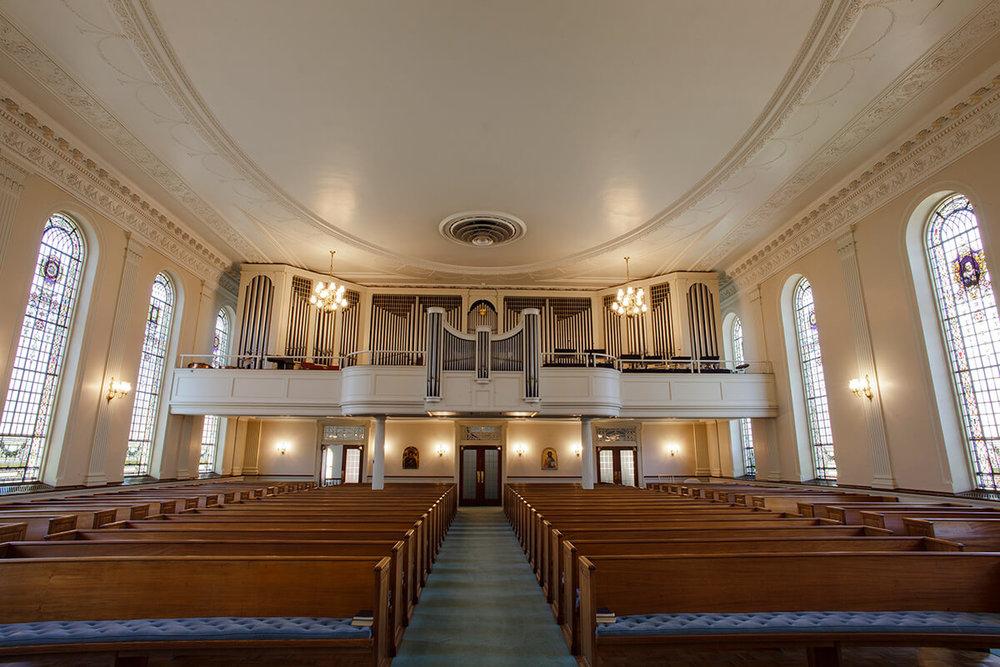 11-Ken-Bruggeman-Photography-York-PA-Commercial-Photographer-Architecture-Church-Christ-Lutheran-Rear-View-Sanctuary-Pipe-Organ.jpg