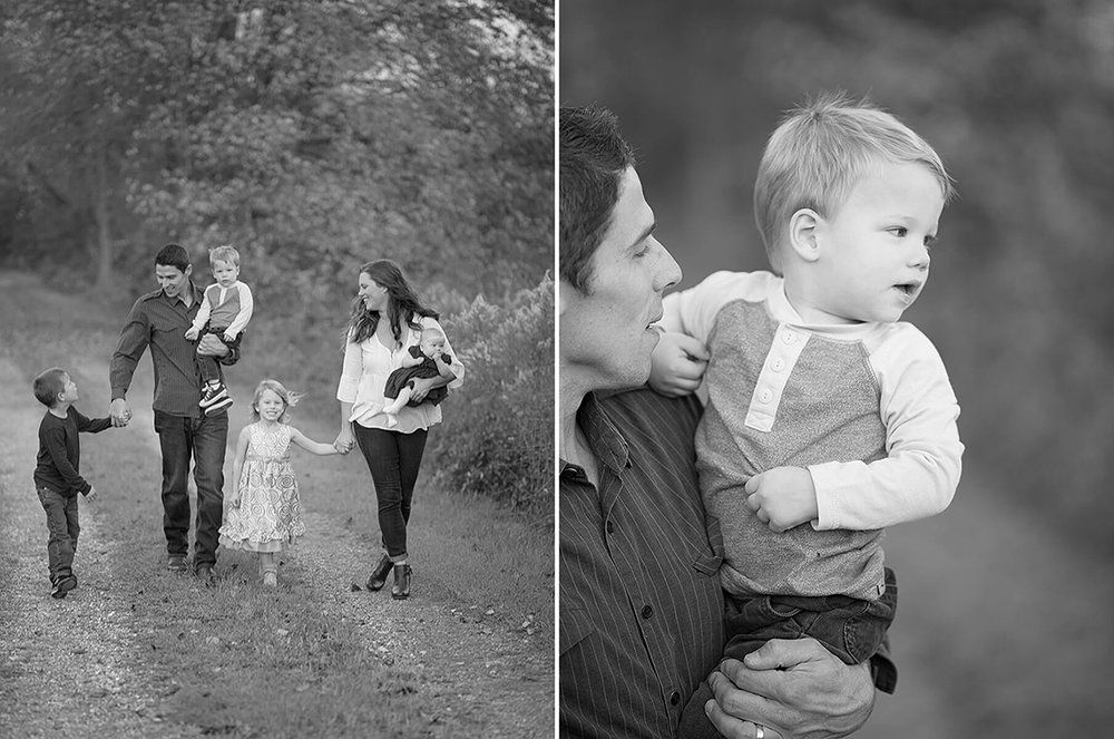 5-Family-Photographer-York-PA-Ken-Bruggeman-Photography-Phillips-Family-Portraits-Black-White-Walking-Baby-Looking.jpg