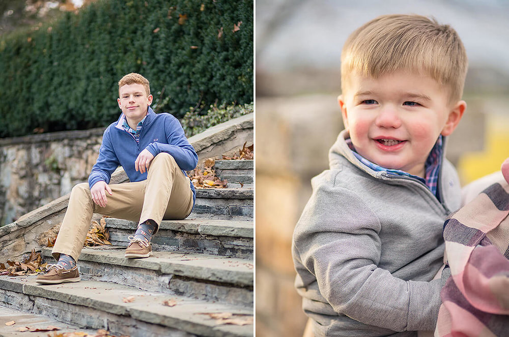 5-Family-Photographer-York-PA-Ken-Bruggeman-Photography-Teenage-Boy-Sitting-Stone-Stairs-Blue-Sweater.jpg