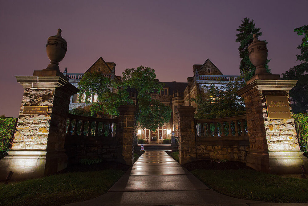 2-Commercial-Architectural-Photographer-York-PA-Ken-Bruggeman-Photography-Historic-Hahn-Home-George-St-Funeral-Home-Main-Entrance-Gate.jpg