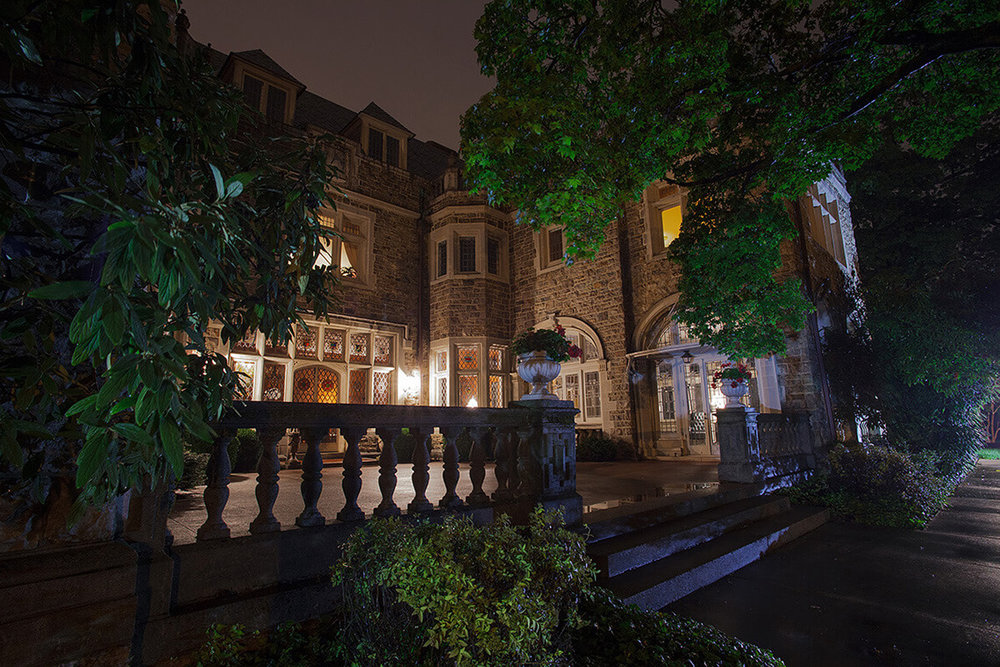8-Commercial-Architectural-Photographer-York-PA-Ken-Bruggeman-Photography-Historic-Hahn-Home-George-St-Funeral-Home-Builing-Lit-Nightime-Trees-Beautiful.jpg