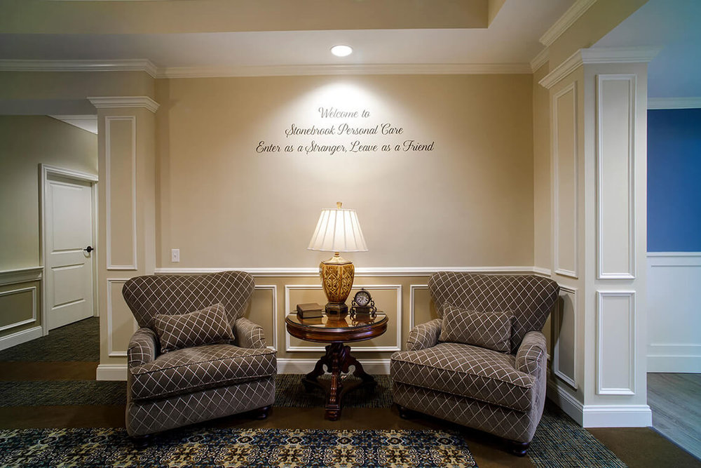 5-Commercial-Architectural-Photographer-York-PA-Ken-Bruggeman-Photography-Senior-Living-Home-Piney-Court-Laurel-Village-Entrance-Welcome-Message-Chairs-Wall-Decal.jpg