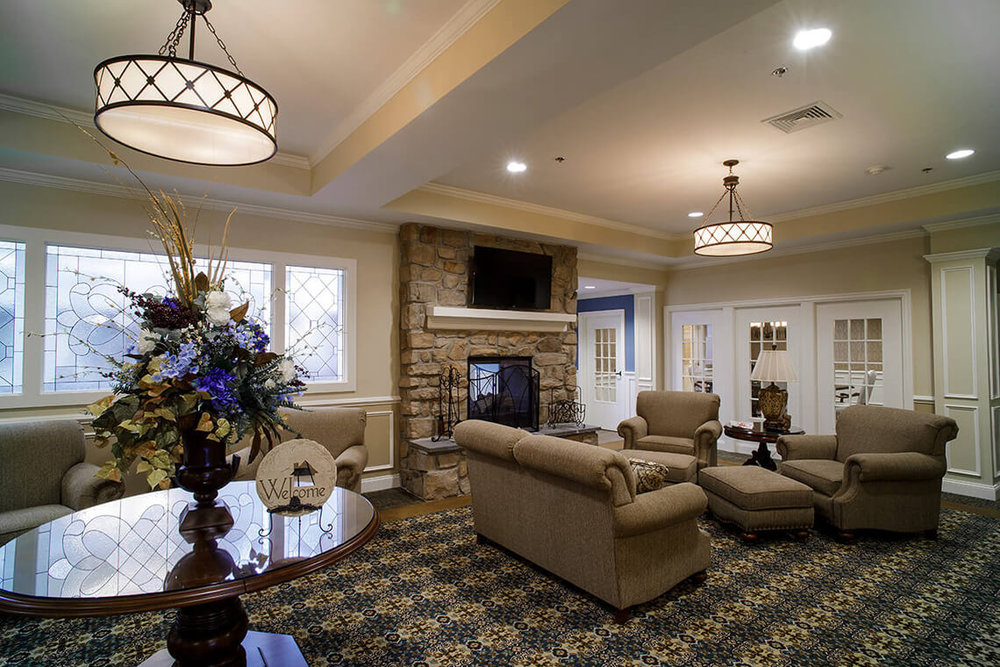 8-Commercial-Architectural-Photographer-York-PA-Ken-Bruggeman-Photography-Senior-Living-Home-Piney-Court-Laurel-Village-Entrance-Lobby-Seating-Welcome-Area.jpg