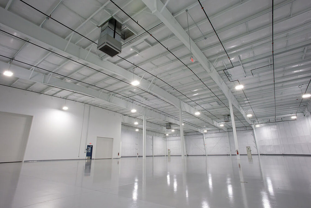 2-Commercial-Architectural-Photographer-York-PA-Ken-Bruggeman-Photography-Richter-Precision-Facility-White-Steel-Structure-Empty.jpg