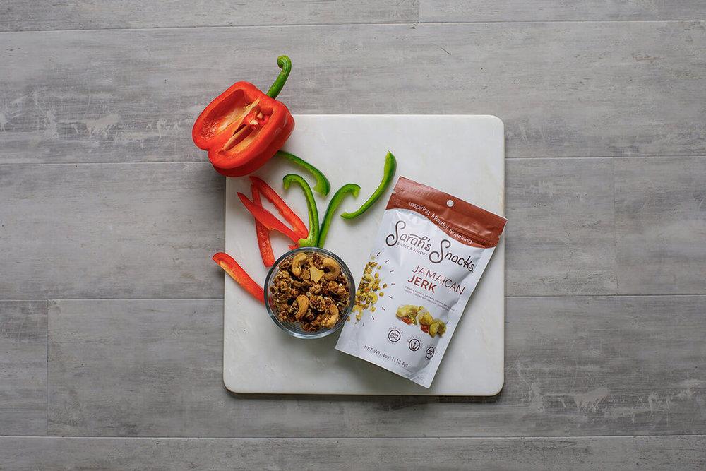 1-Commercial-Food-Photographer-York-PA-Ken-Bruggeman-Photography-Granola-Sarahs-Snacks-Jamaican-Jerk-Arial-View.jpg