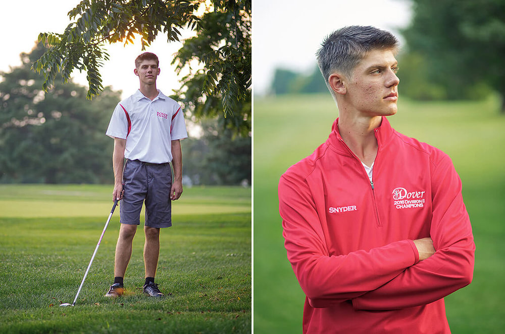 2-Senior-Portrait-Photographer-York-PA-Ken-Bruggeman-Photography-Dover_School-Young-Man-Standing-Golf-Course-Red-Jacket.jpg