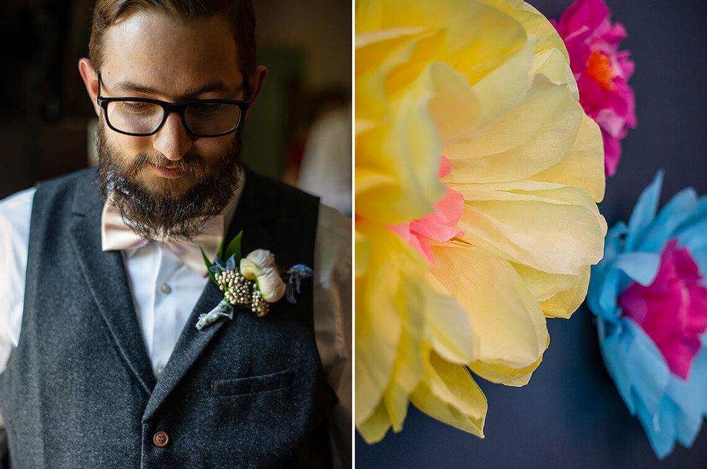 7-Max-Halterman-Sammi-Wedding-Photographer-York-PA-Ken-Bruggeman-Photography-Groom-Dramatic-Light-Paper-Flowers.jpg
