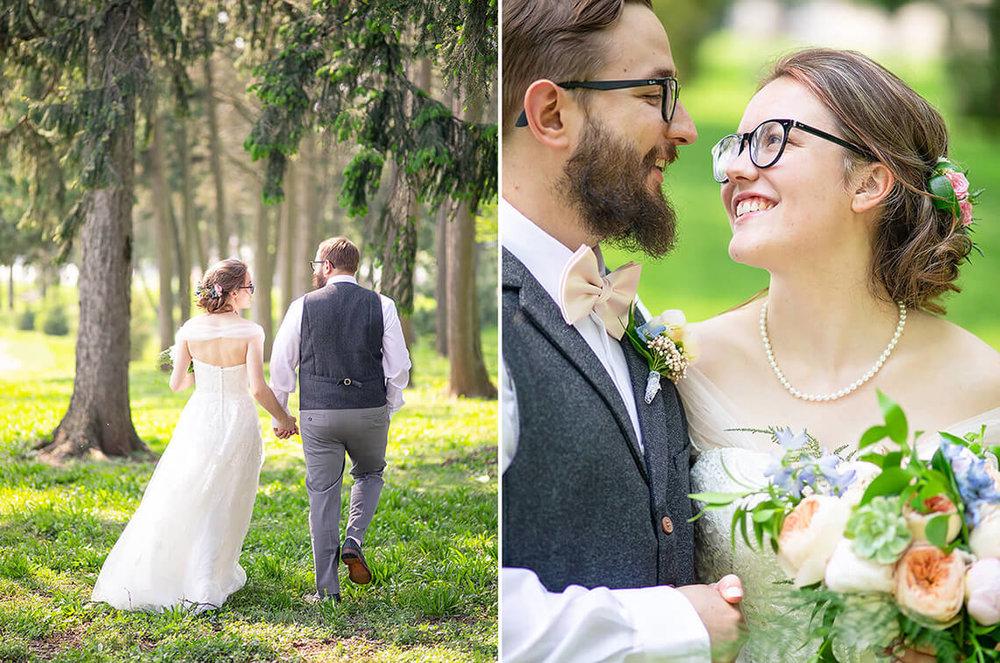 9-Max-Halterman-Sammi-Wedding-Photographer-York-PA-Ken-Bruggeman-Photography-Bride-Groom-Walking-Smiling.jpg