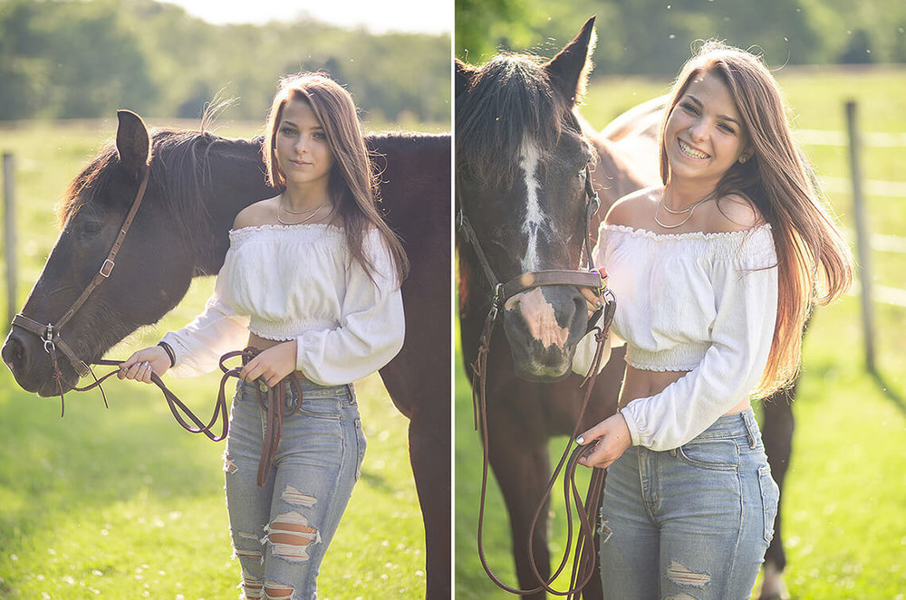 2-Senior-Portrait-Photographer-York-PA-Ken-Bruggeman-Photography-Golden-Hour-Light-Girl-Horse.jpg