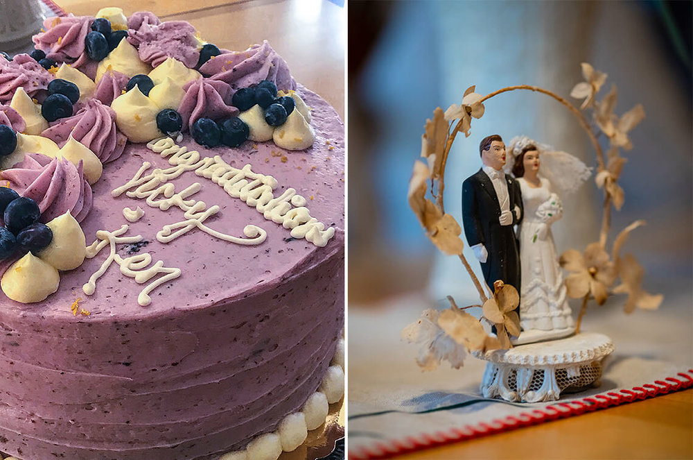 11-Wedding-Photograph-York-PA-Ken-Bruggeman-Photography-Purple-Cake-Vintage-Husband-Wife-Topper.jpg